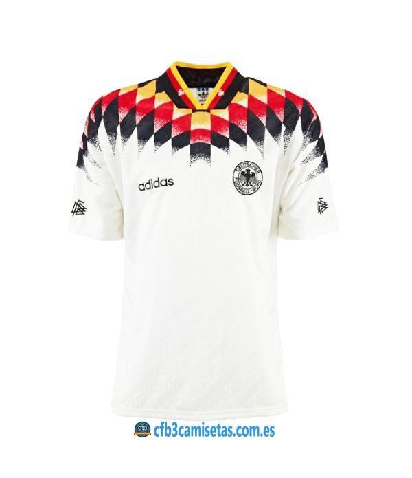 CFB3-Camisetas Alemania 1a Equipación Mundial 1994