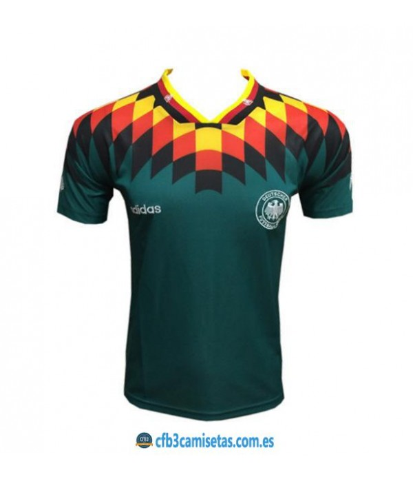 CFB3-Camisetas Alemania 2a Equipación Mundial 199...
