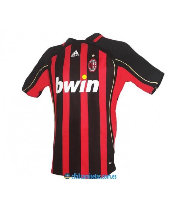CFB3-Camisetas Camiseta AC Milan 2006/07