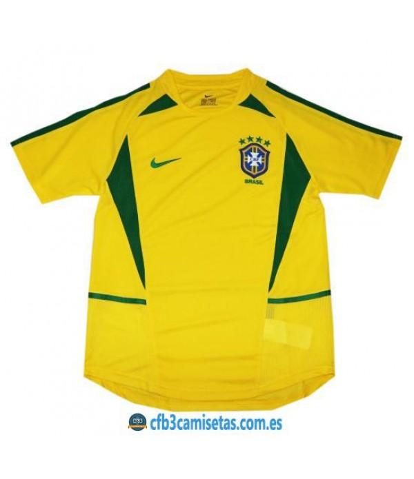 CFB3-Camisetas Camiseta Brasil Mundial 2002
