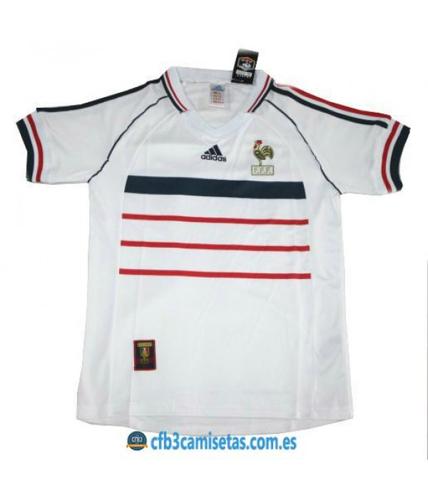 CFB3-Camisetas Camiseta Francia 2a Mundial 1998