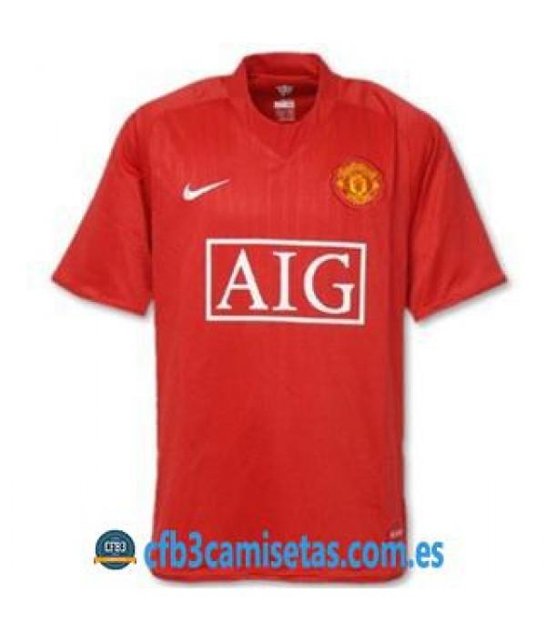 CFB3-Camisetas Camiseta Manchester United 2007/08