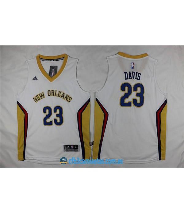 CFB3-Camisetas Anthony Davis New Orleans PelicansN...