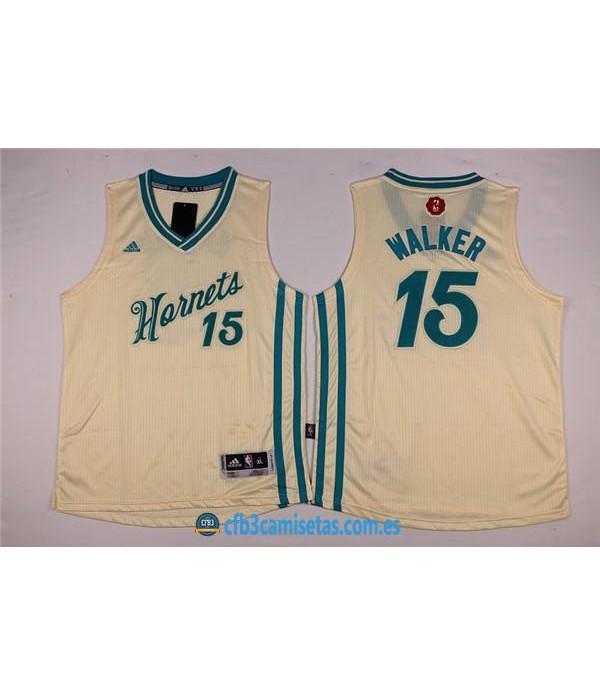 CFB3-Camisetas Kemba Walker Charlotte HornetsNIÑOS