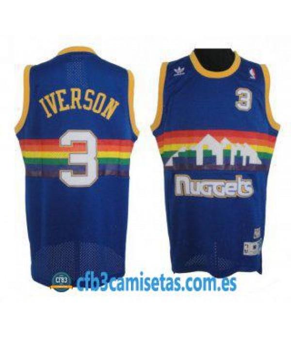 CFB3-Camisetas Allen Iverson Allen Iverson Azul
