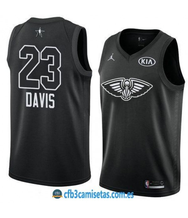 CFB3-Camisetas Anthony Davis 2018 All Star Black