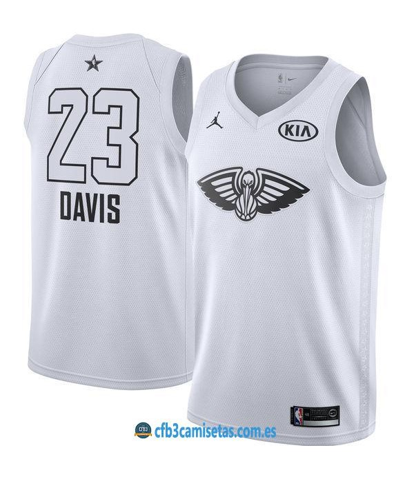 CFB3-Camisetas Anthony Davis 2018 All Star White