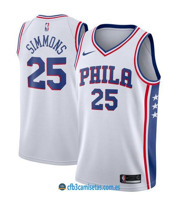 CFB3-Camisetas Ben Simmons Philadelphia 76ers Association
