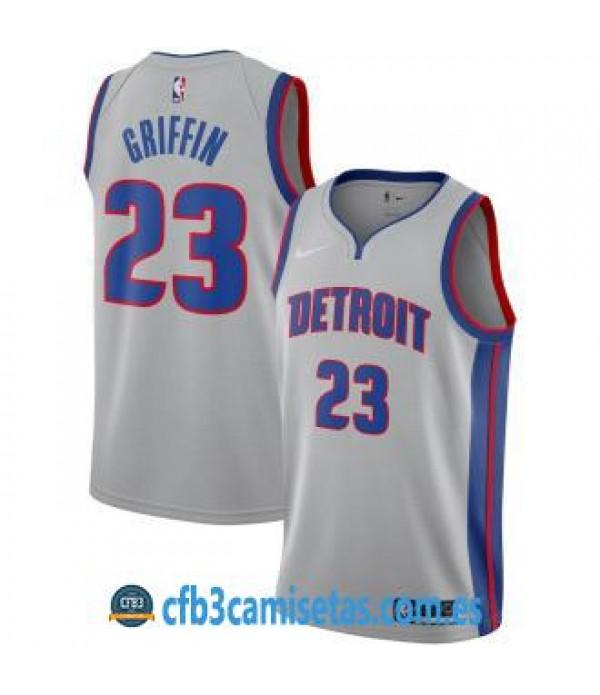 CFB3-Camisetas Blake Griffin Detroit Pistons State...