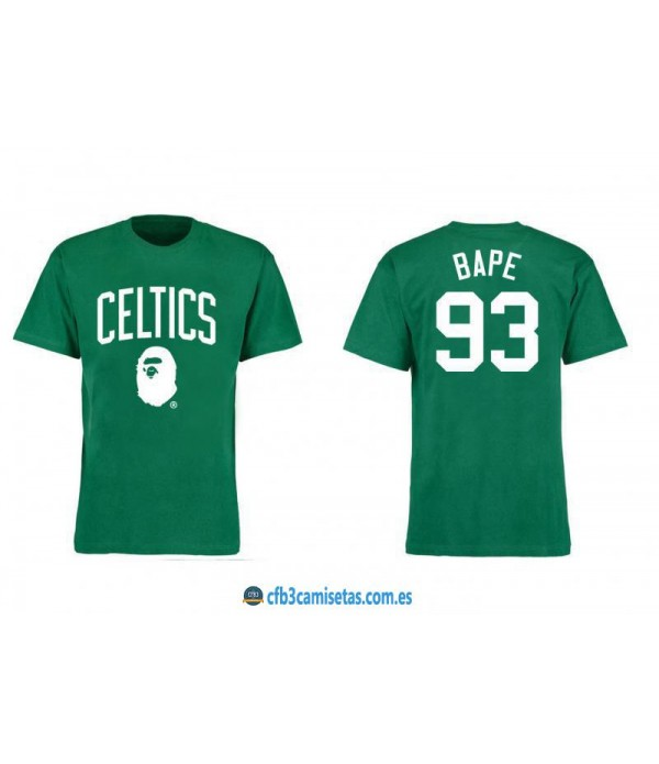 CFB3-Camisetas Boston Celtics BAPE