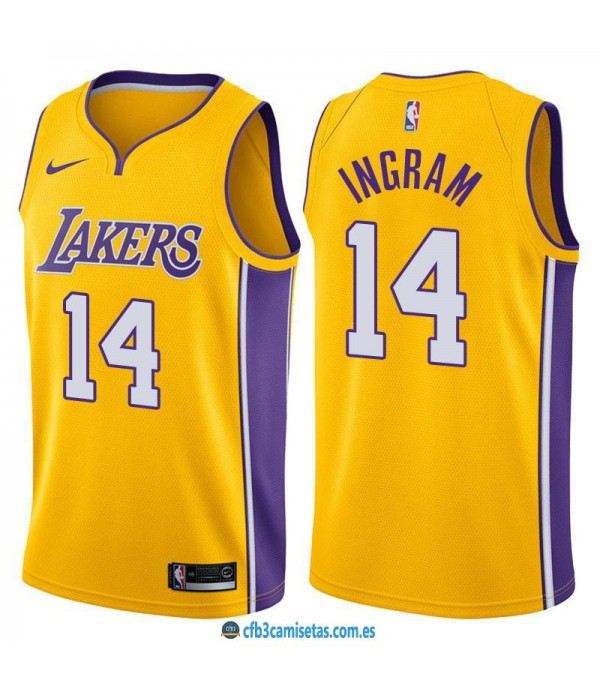 CFB3-Camisetas Brandon Ingram Los Angeles Lakers I...