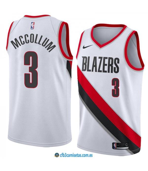 CFB3-Camisetas C J McCollum Portland Trail Blazers Association
