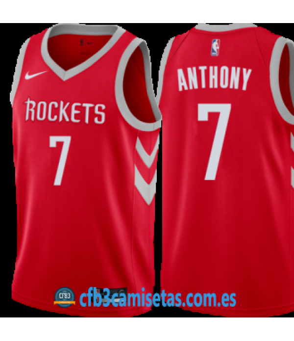 CFB3-Camisetas Carmelo Anthony Houston Rockets Ico...