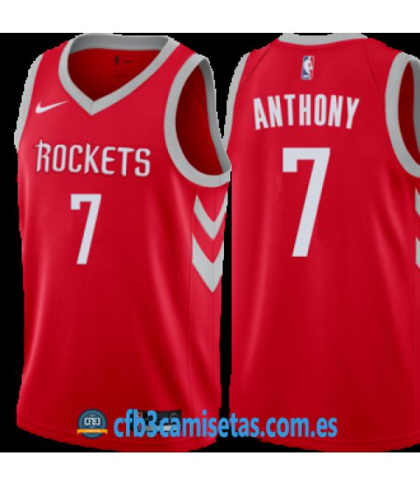 CFB3-Camisetas Carmelo Anthony Houston Rockets Icon