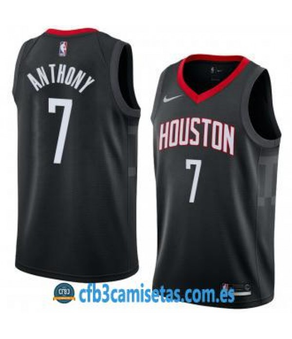 CFB3-Camisetas Carmelo Anthony Houston Rockets Sta...