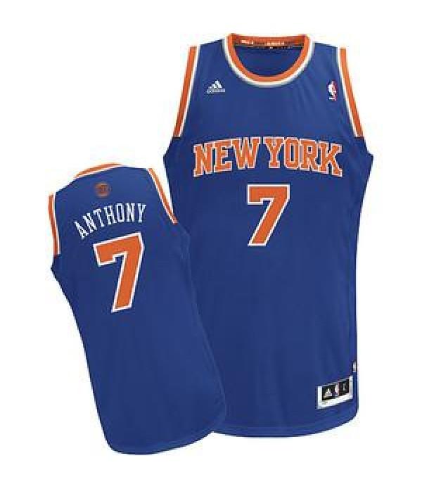 CFB3-Camisetas Carmelo Anthony New York Knicks Azu...