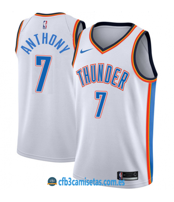 CFB3-Camisetas Carmelo Anthony Oklahoma City Thund...