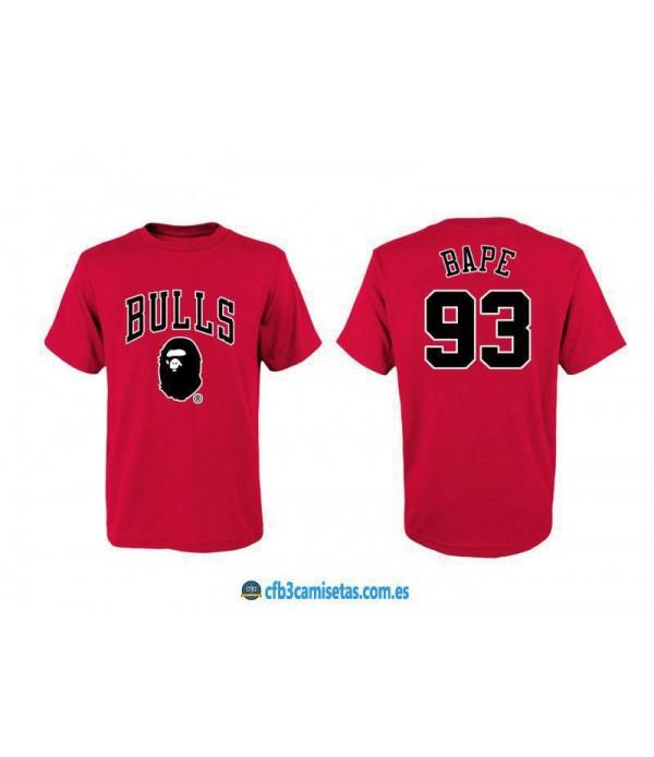 CFB3-Camisetas Chicago Bulls BAPE