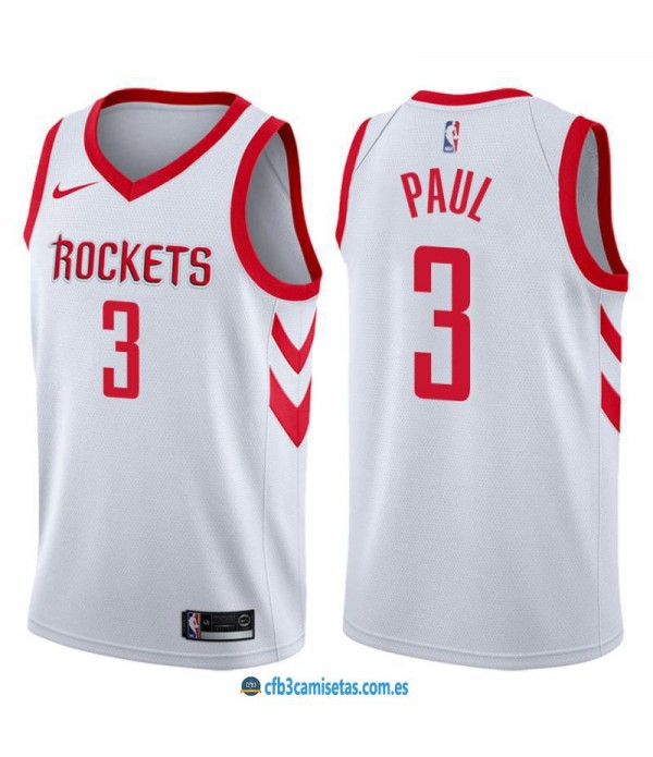 CFB3-Camisetas Chris Paul Houston Rockets Associat...