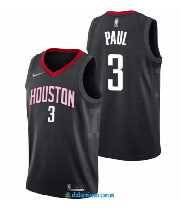 CFB3-Camisetas Chris Paul Houston Rockets Statemen...