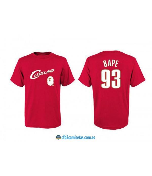 CFB3-Camisetas Cleveland Cavaliers BAPE