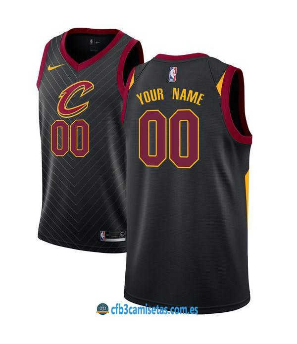 CFB3-Camisetas Cleveland Cavaliers Statement PERSONALIZABLE
