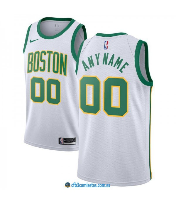 CFB3-Camisetas Custom Boston Celtics 2018 2019 City Edition