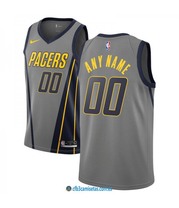CFB3-Camisetas Custom Indiana Pacers 2018 2019 City Edition