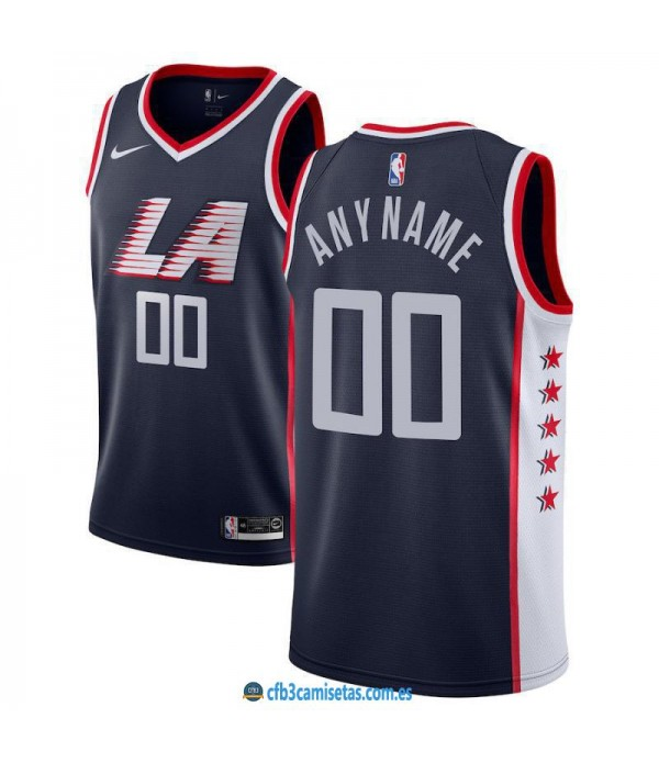 CFB3-Camisetas Custom LA Clippers 2018 2019 City E...