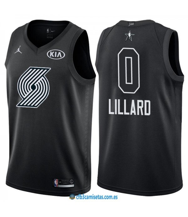CFB3-Camisetas Damian Lillard 2018 All Star Black