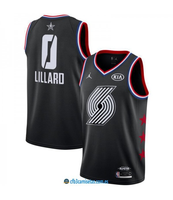 CFB3-Camisetas Damian Lillard 2019 All Star Black