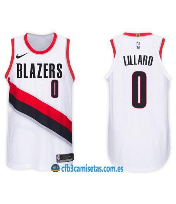 CFB3-Camisetas Damian Lillard Portland Trail Blazers Association