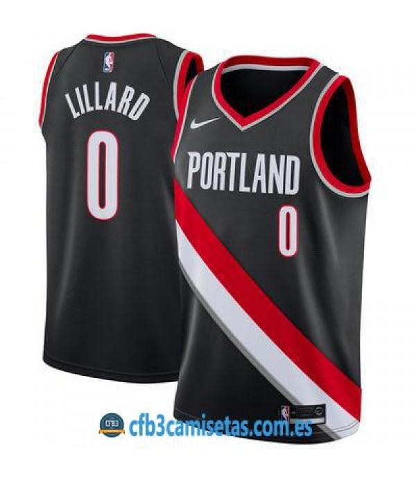 CFB3-Camisetas Damian Lillard Portland Trail Blaze...