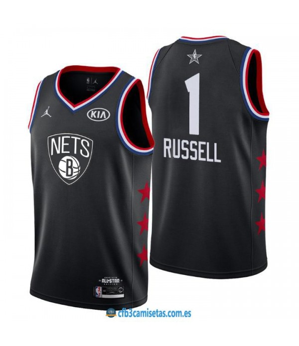 CFB3-Camisetas DAngelo Russell 2019 All Star Black