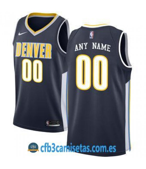 CFB3-Camisetas Denver Nuggets Icon PERSONALIZABLE