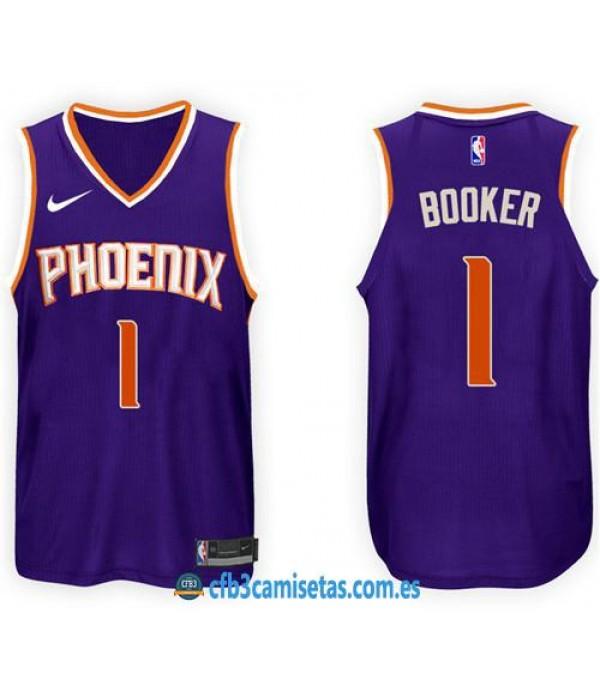 CFB3-Camisetas Devin Booker Phoenix Suns Icon
