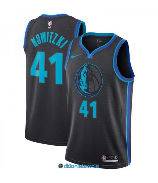 CFB3-Camisetas Dirk Nowitzki Dallas Mavericks 2018...