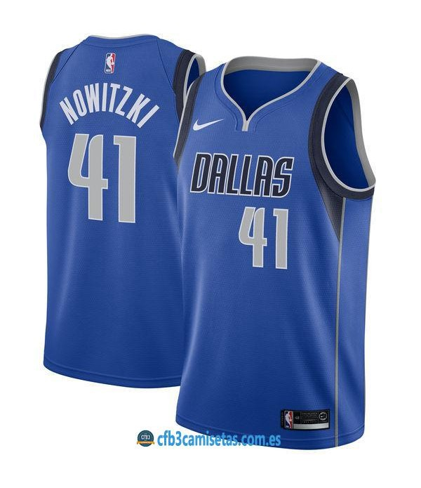 CFB3-Camisetas Dirk Nowitzki Dallas Mavericks Icon
