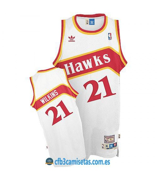 CFB3-Camisetas Dominique Wilkins Atlanta Hawks Home