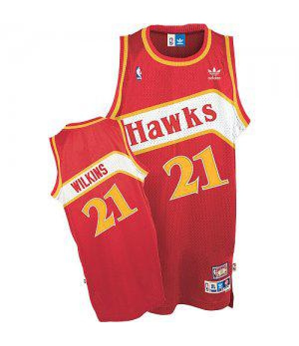 CFB3-Camisetas Dominique Wilkins Atlanta Hawks Road