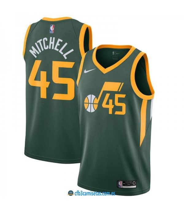CFB3-Camisetas Donovan Mitchell Utah Jazz Earned E...