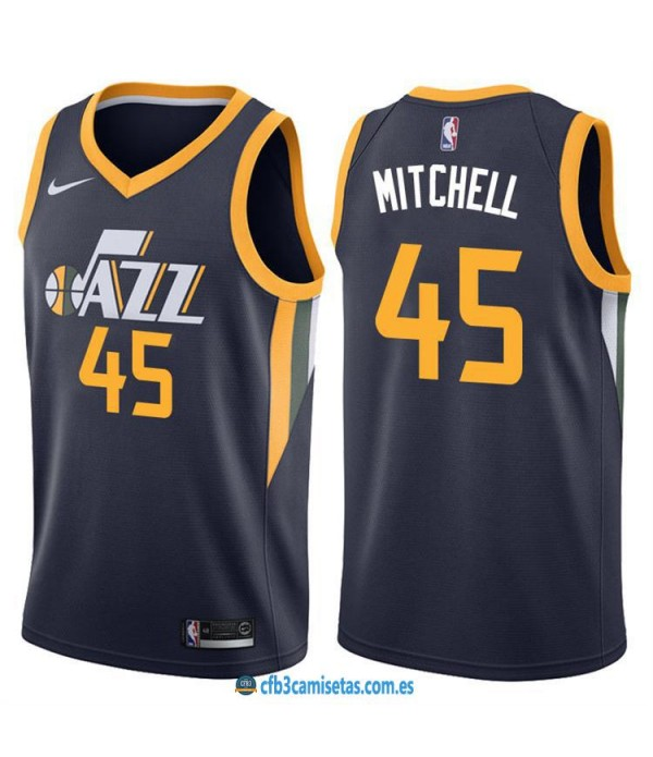 CFB3-Camisetas Donovan Mitchell Utah Jazz Icon