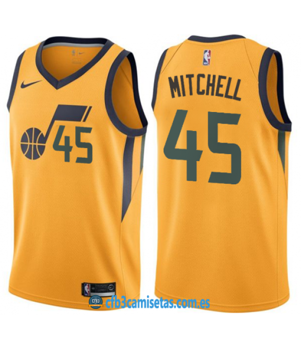 CFB3-Camisetas Donovan Mitchell Utah Jazz Statement