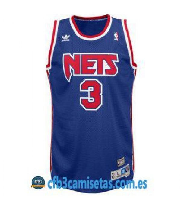 CFB3-Camisetas Dražen Petrović New Jersey Nets