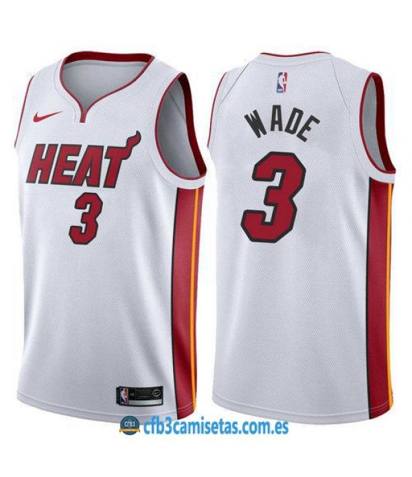 CFB3-Camisetas Dwyane Wade Miami Heat Association