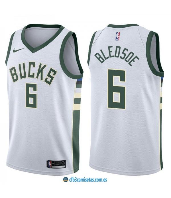 CFB3-Camisetas Eric Bledsoe Milwaukee Bucks Associ...