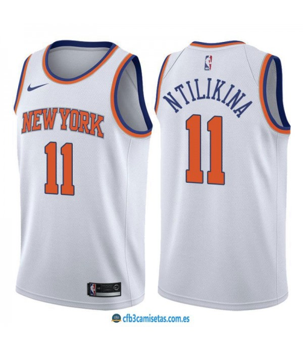 CFB3-Camisetas Frank Ntilikina New York Knicks Association