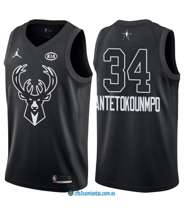 CFB3-Camisetas Giannis Antetokounmpo 2018 All Star...
