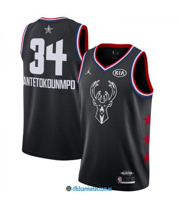 CFB3-Camisetas Giannis Antetokounmpo 2019 All Star...