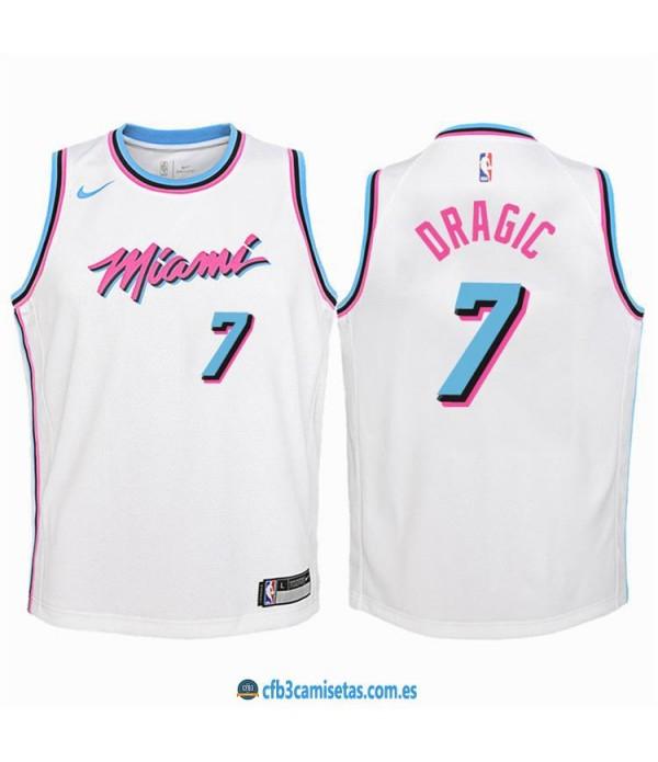 CFB3-Camisetas Goran Dragić Miami Heat City Edition